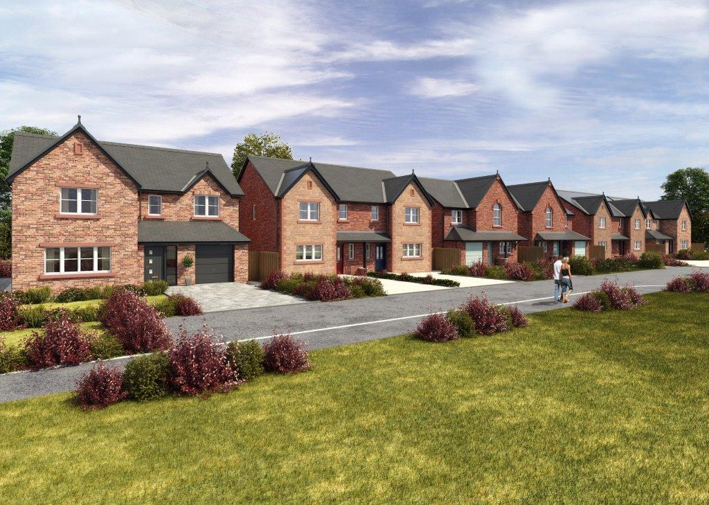 Thornedge the popular choice magnus homes for Semi detached garage plans